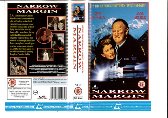 NARROW MARGIN (VHS) UK