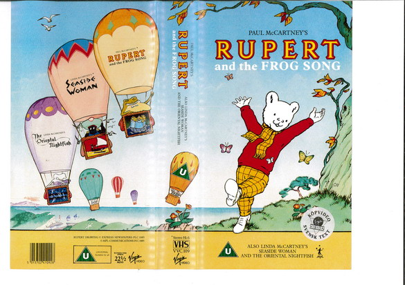 RUOERT AND THE FROG SONG (VHS)