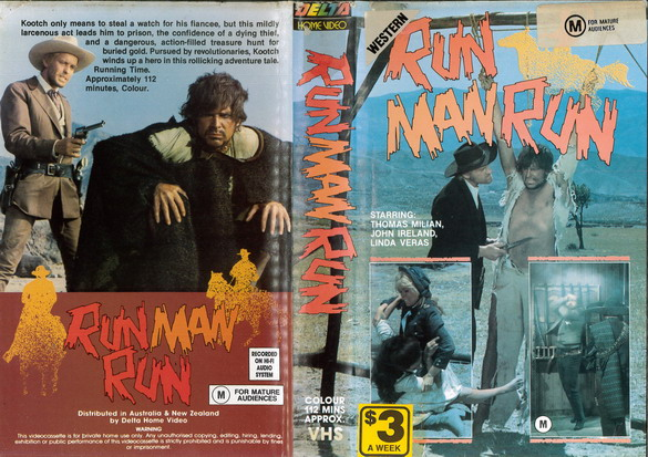 RUN MAN RUN VHS) AUS