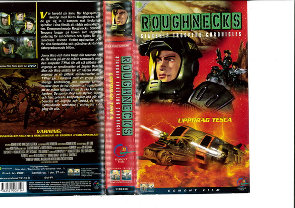 ROUGHNECKS DEL 2(VHS)
