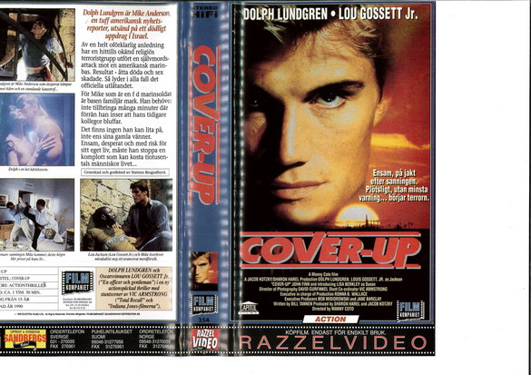 COVER-UP  (VHS)