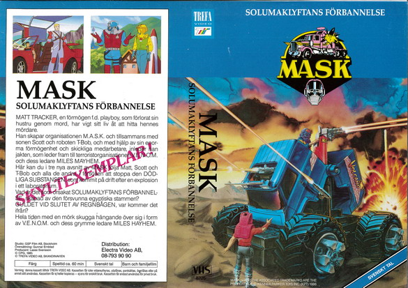 MASK - SOLUMAKLFTANS FÖRBANNELSE