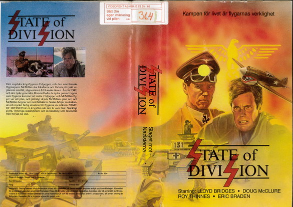 604 sTATE OF DIVISION  (VHS)