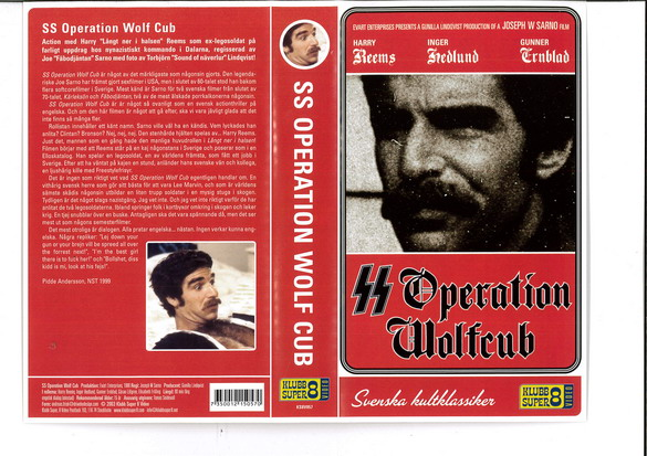 SS OPERATION WOLF CUB  (VHS) ny