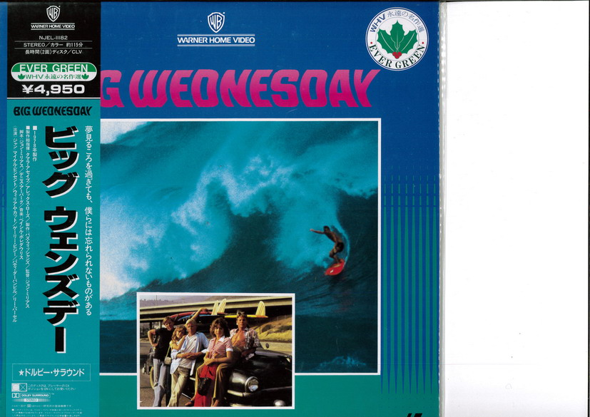 BIG WEDNESDAY  (LASERDISC)