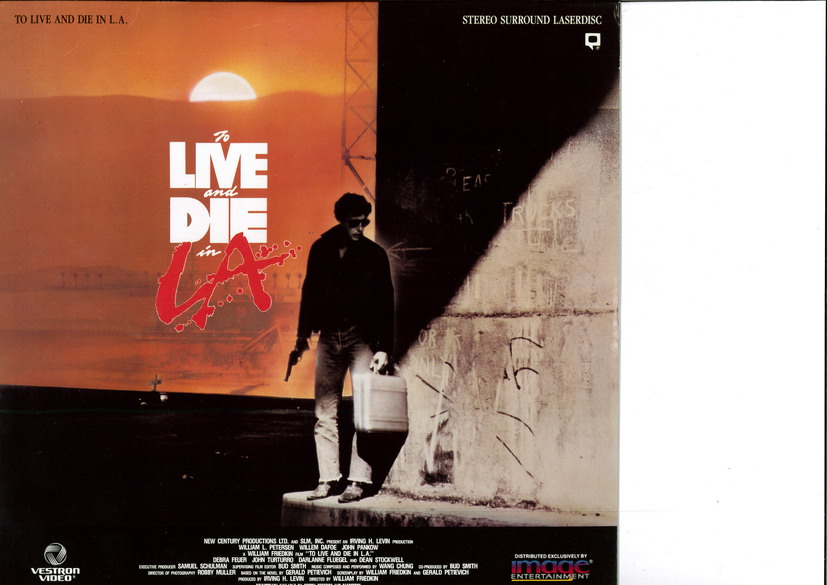 TO LIVE AND DIE IN L.A.  (LASERDISC)
