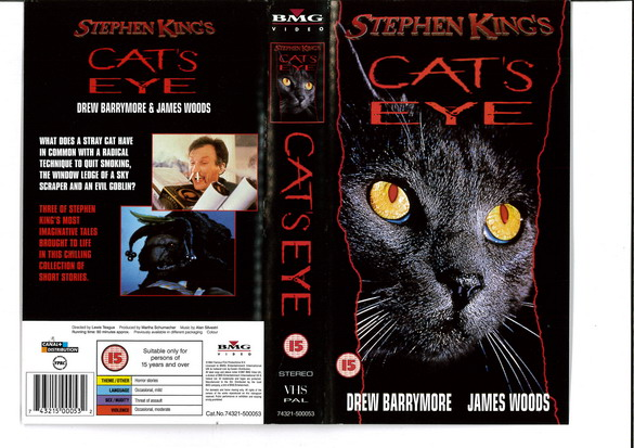 CATS EYE - UK  (VHS)