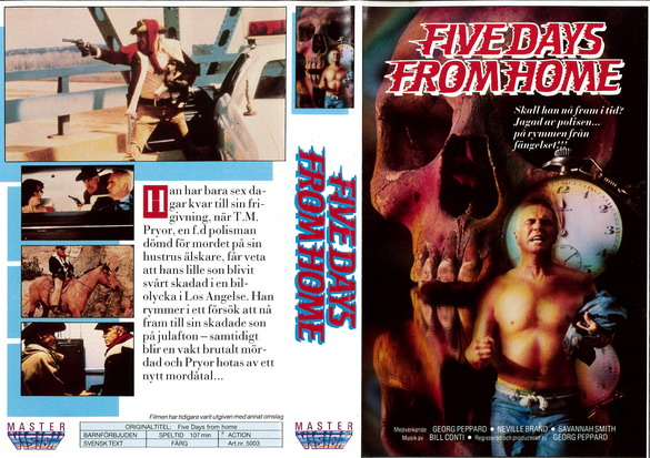 5003 FIVE DAYS FROM HOME (VHS)
