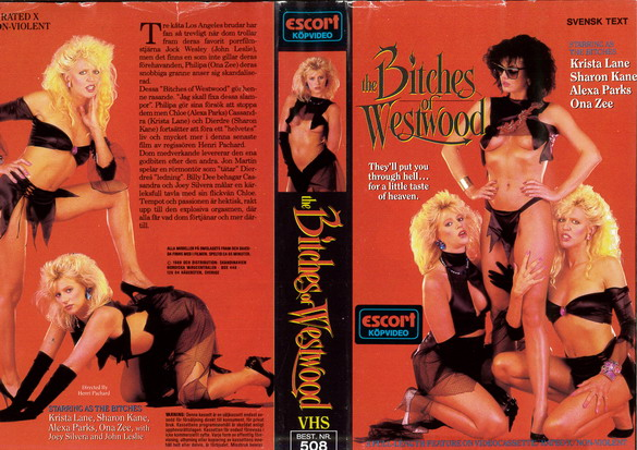 508 BITCHES OF WESTWOOD (VHS)
