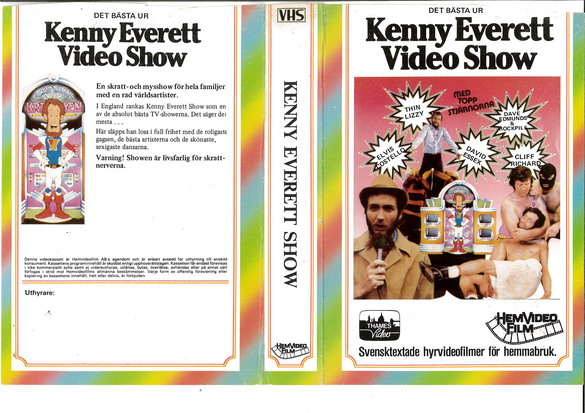 280 Kenny Everett Video Show Vol 1 (VHS)