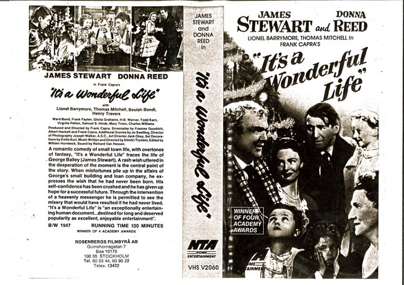 IT'S A WONDERFUL LIFE (VHS)