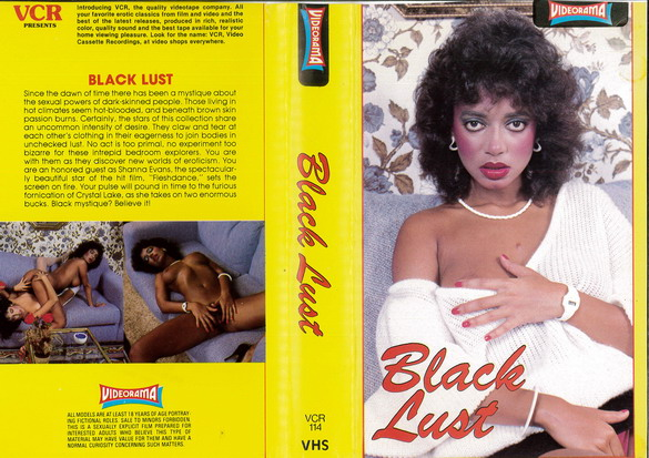 BLACK LUST (VHS)  IMPORT