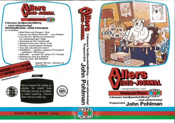 ALLERS VIDEO-JOURNAL (VHS)