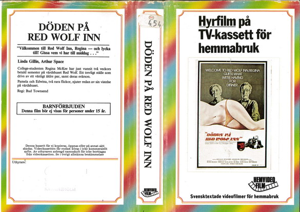061 DÖDEN PÅ RED WOLF IN (VHS)