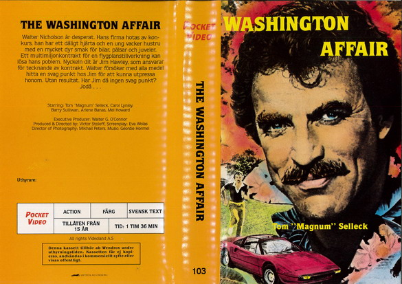 103 WASHINGTON AFFAIR (vhs)
