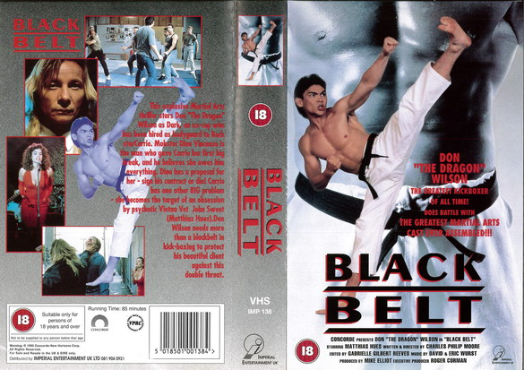 BLACK BELT (VHS) UK