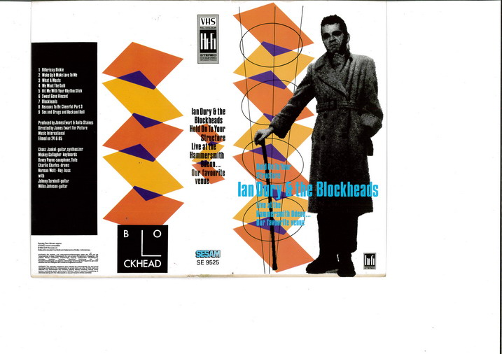 IAN DURY & THE BLOCKHEADS (VHS)