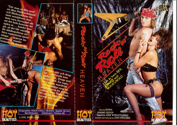 ROCK'N ROLL HEAVEN (VHS)
