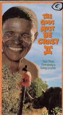GOD MUST BE CRAZY 2 (VHS) USA