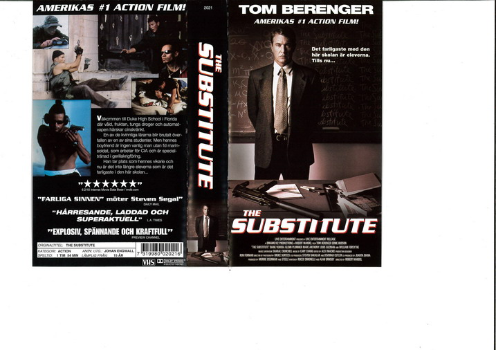 SUBSTITUTE (VHS)