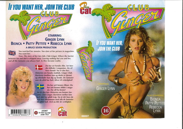 CLUB GINGER (VHS)