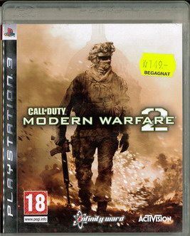 CALL OF DUTY - MW 2 (BEG PS3)