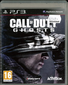 CALL OF DUTY - GHOST (BEG PS3)