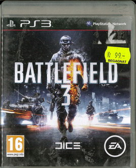 BATTLEFIELD 3 (BEG PS 3)