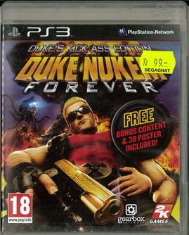 DUKE NUKEN FOREVER (BEG PS 3)