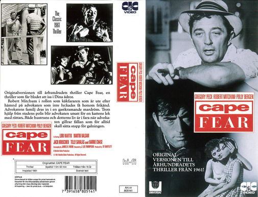 CAPE FEAR - 1961 (VHS)