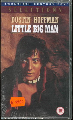 LITTLE BIG MAN (VHS) UK