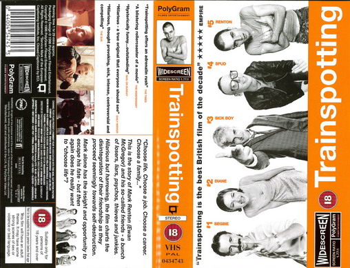 TRAINSPOTTING (VHS) UK