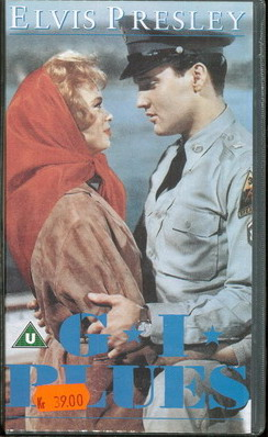 G I BLUES (VHS) UK