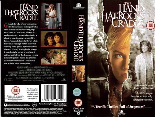 HAND WHO ROCKS THE CRADLE (VHS) UK