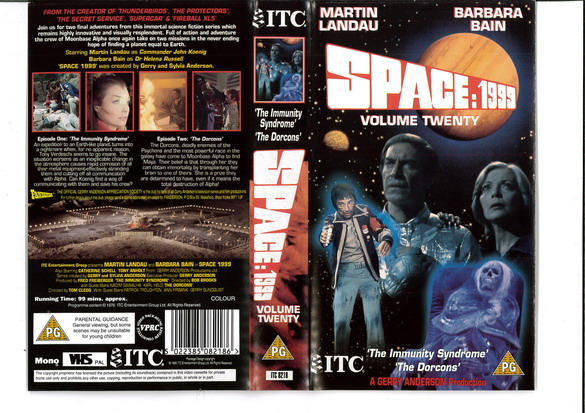 SPACE 1999 VOL 20 (VHS) UK