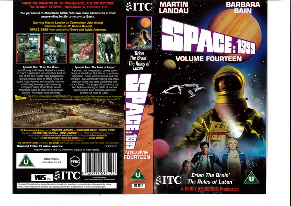 SPACE 1999 VOL 14 (VHS) UK
