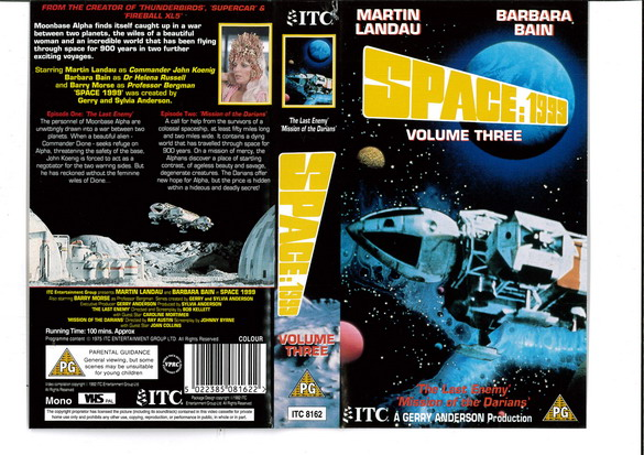 SPACE 1999 VOL 03 (VHS) UK