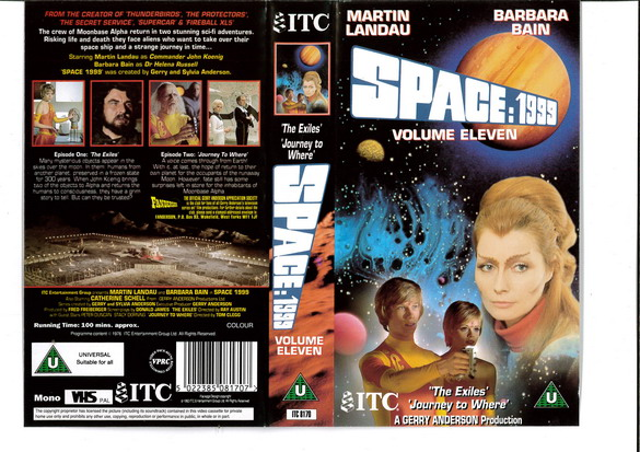 SPACE 1999 VOL 11 (VHS) UK