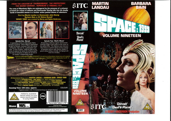 SPACE 1999 VOL 19 (VHS) UK