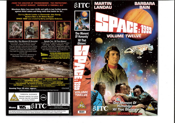 SPACE 1999 VOL 12 (VHS) UK