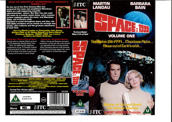 SPACE 1999 VOL 01 (VHS) UK