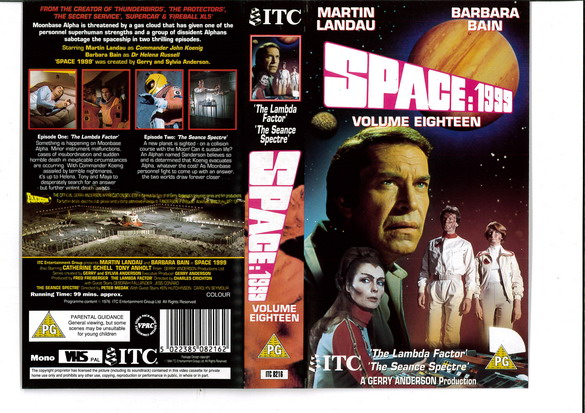 SPACE 1999 VOL 18 (VHS) UK