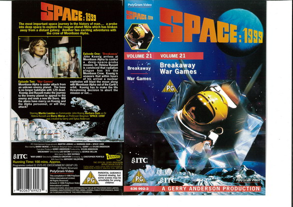 SPACE 1999 VOL 21 (VHS) UK