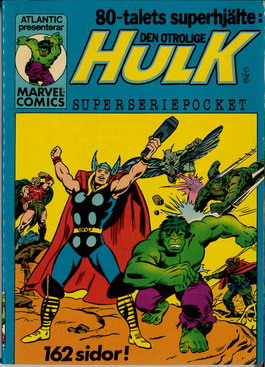 SUPERSERIEPOCKET 4 HULK
