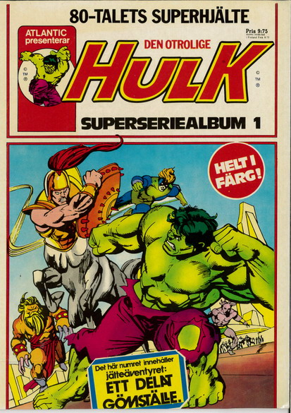 HULK SUPERSERIEALBUM 1