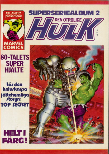 HULK SUPERSERIEALBUM 2