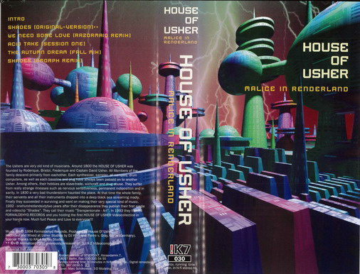 HOUSE OF USHER - MALICE IN RENDERLAND (VHS)