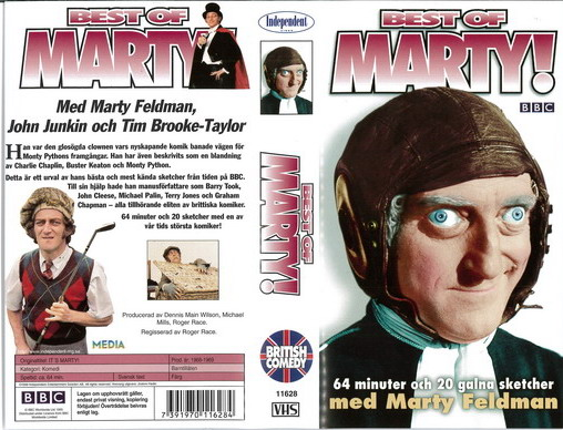 BEST OF MARTY (VHS)