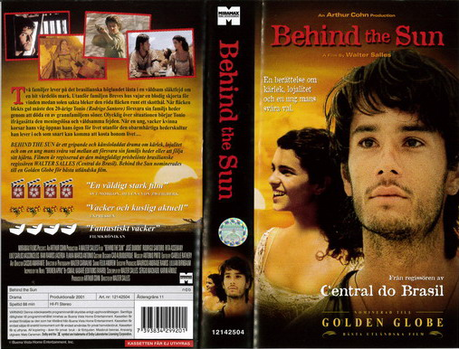 BEHIND THE SUN (VHS)