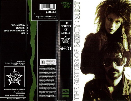 SISTERS OF MERCY - SHOT(VHS)